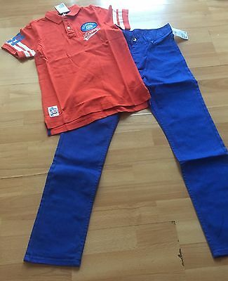 BNWT Boys Polo Top  & Pair Of Jeans  From H&M Age 11-12 Years