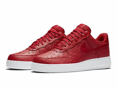 Nike Air Force 1 '07 LV8 One Chaussures hommes premium Low sneaker cuir NEUF 43