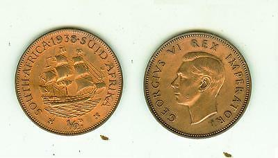 1/2 Penny 1938  South Africa