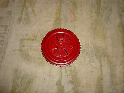 MECCANO RED BALL THRUST BEARING PART No 168 IN GOOD USED CONDITION.