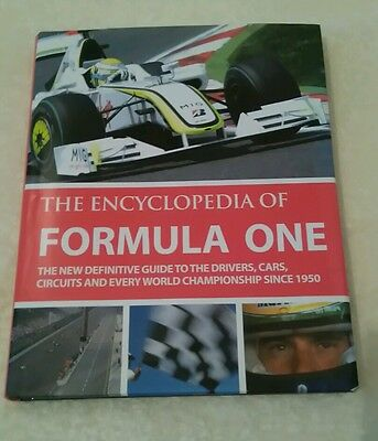 The Encyclopedia Of Formula One - Tim Hill - 2009 Hb Dj Book