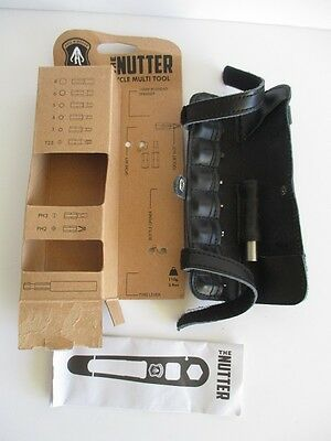 Full Windsor 'The Nutter' Cycle Multi Tool - Pouch & Bits Only