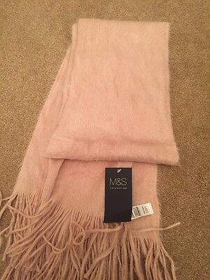 M&S Pink Soft Scarf - Brand New With Tags
