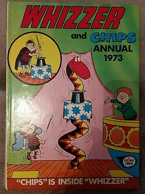 1973 Whizzer And Chips Comic Book Annual Hardback
