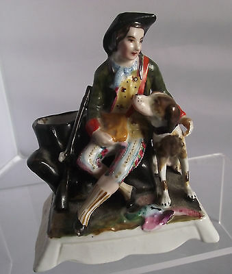 Decorative Fairing Type Georgian Hunting Figure  Musket And Hunting Dog China