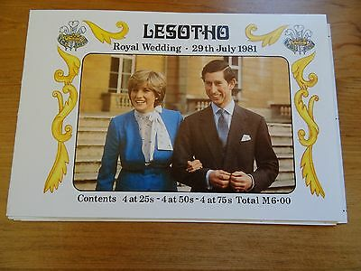 Great Royal Wedding Presentation pack from Lesotho