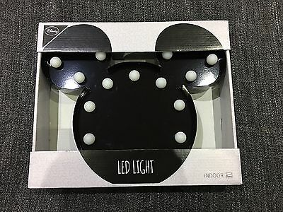 Brand New Mickey Mouse Disney LED Light Primark Collectibles Minnie