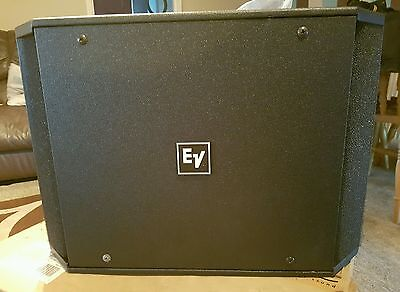 Electro voice ev speakers/subwoofer 12.1 brand new
