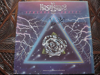 Rose Royce Lp 'strikes Again' Hand Signed By Gwen Dickey.