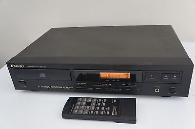 SANSUI CD 190  Player  with Tube Output
