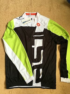 Mens Castelli Long Sleeve Cycling Jersey  and Pants Set XXL