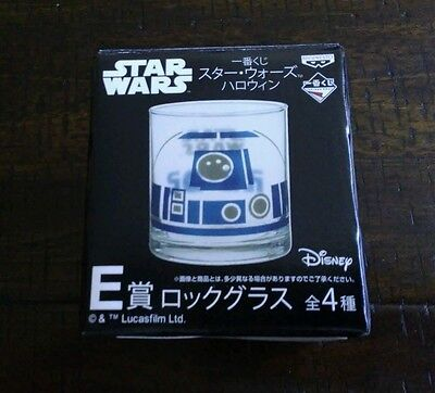 Star Wars R2-D2 old-fashioned bar glass Japan exclusive from 7-11 stores