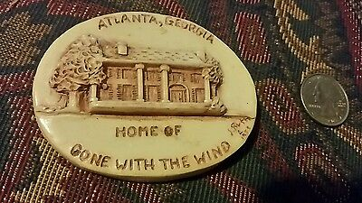 RARE Home Of Gone With The Wind Georgia Marble Limited Edition Magnet J Ruth