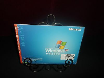 NEW SEALED MICROSOFT WINDOWS XP PROFESSIONAL FULL OPERATING SYSTEM WIN PRO SP1a