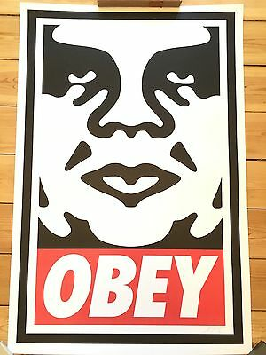 Shepard Fairey, OBEY ICON, Obey Giant, signed