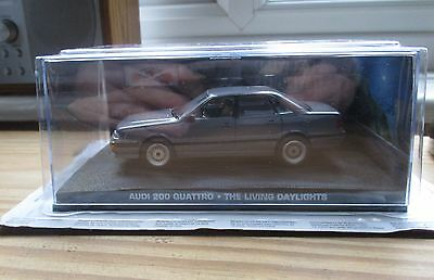 James Bond Car Collection. Audi 200 Quattro. New & Sealed