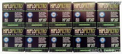 Suzuki FL125 Address (2007 to 2010) HifloFiltro Oil Filter (HF207) x 10 pack