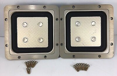 Pair Subs Sony APM-22ES 8-927-175-00 Japan & Original Hardware Tested Subwoofers