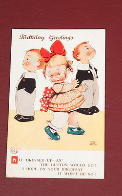 Vintage 1930's Mabel Lucy Attwell Postcard