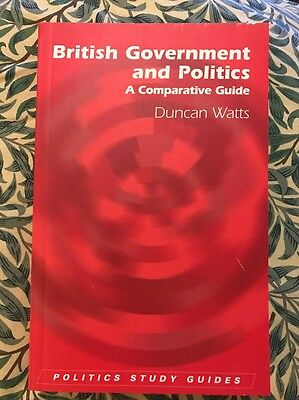 British Government and Politics by Duncan Watts Paperback Book (English) Study