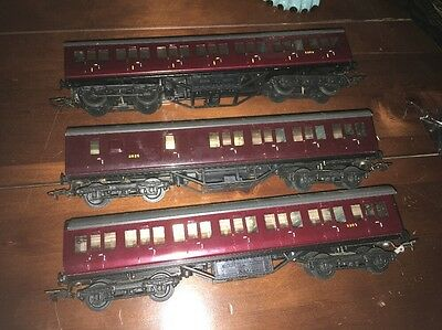 Exley OO Gauge B.R Suburban Coach Break & First 3 Coaches In Total
