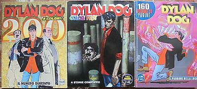 lotto DYLAN DOG  n.200 a colori + COLOR FEST n. 2 + SPECIALE ott. 2000   Occasio