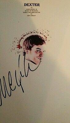 Script Screenplay Dexter   Pilot   Printed Signed Cover Michael C Hall