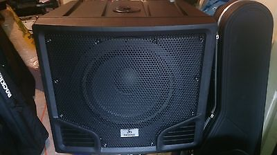 "Devine 500w Active PA Subwoofer 15"" lightweight"