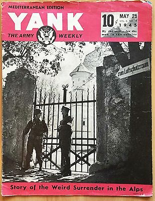 Rivista  YANK - Vol.2 N.13, 1945_Story of the Weird Surrender in the Alps_WW2*