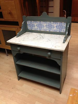 Wash Stand With Marble Work Top