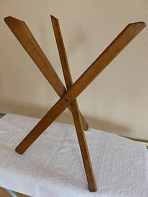 Rare antique wooden wool yarn winder (?) knitting wool.
