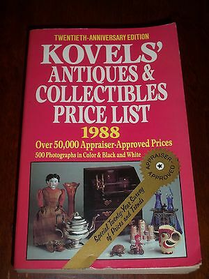 Kovels' Antiques & Collectibles Price List 1988