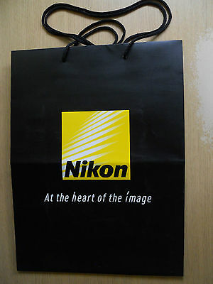 Carrier Bag. Nikon 'At The Heart Of The Image'. Photography.