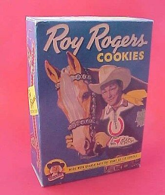 Roy Rogers cookie box reproduction  WOW