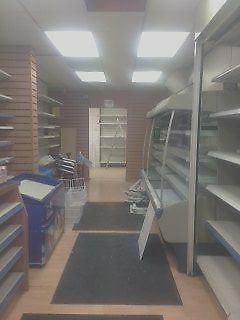 MUST SELL URGENT Commercial shelving and shop fittings from SHOP IN Fulham SW6