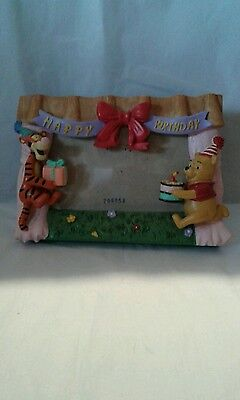 Disney store winnie the pooh and Tigger photo frame