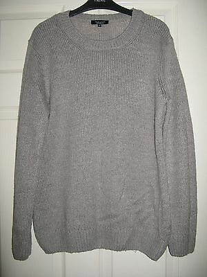 New Look Maternity Grey Knitted Jumper Size 14