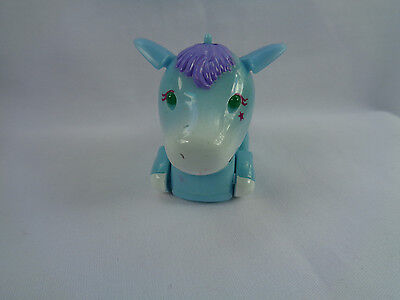 2002 Tomy Micropets Rio Blue Horse / Pony Electronic Interactive Toy