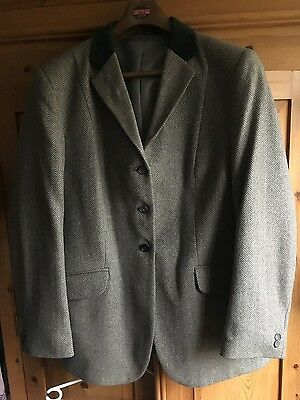 """Womens Mears Tweed Riding Jacket 46"""""""