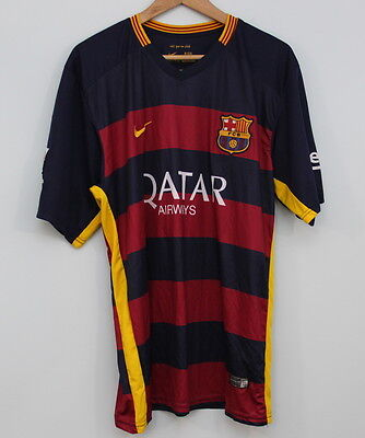 Nike FC Barcelona Messi T Shirt Size XL