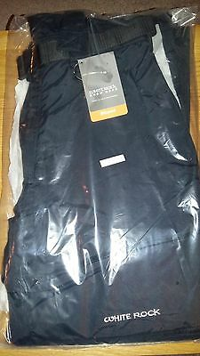 White Rock Mens Ski  Pants Salopettes Trousers  Size LARGE