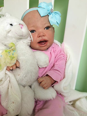 Beautiful Realistic Reborn baby girl doll fast delivery!