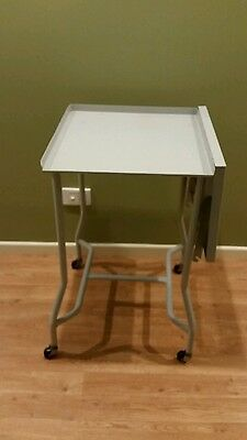 Professional Folding steel workshop table, projector table, Instrument Table