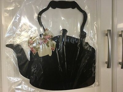 Notice board NEW Black kettle magnetic for chalk