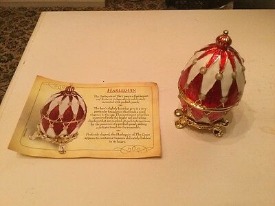 Atlas Editions Faberge Eggs Harlequin of The Czars