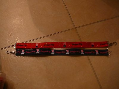 M&S - Girls Peppa Pig Belts - Age 4-6 Years