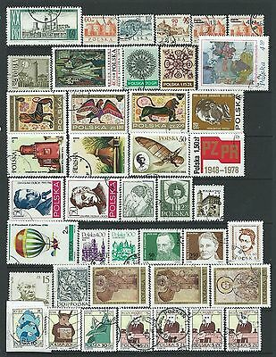 179 Stamps from Poland (many duplicated)
