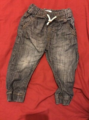 Next Baby Boys Jeans 9-12 Months Very Good Used Condition