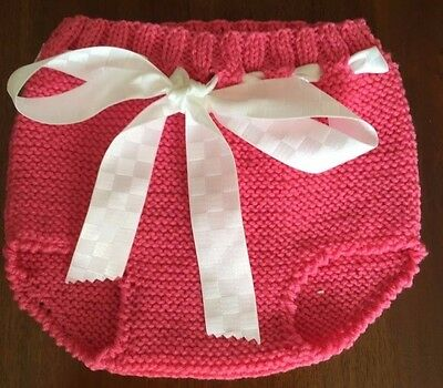 NEW - Baby knitting - 100% Cotton - Hand Made - 3 to 6 months
