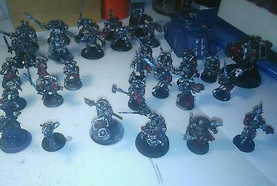 warhammer 40k army grey knight ejercito caballeros grises